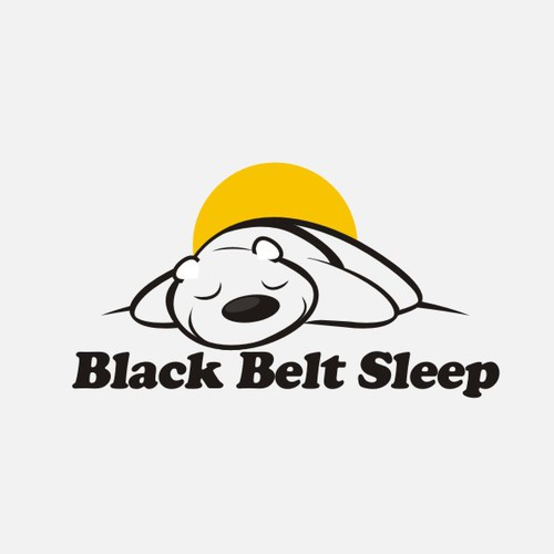 Create the next logo for Black Belt Sleep