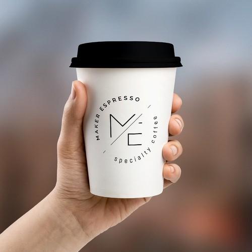 Simple logo design for a coffee shop