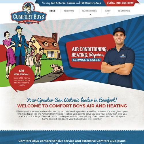 Retro Style - Website Design