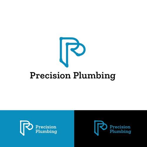 """Plumbing """"P"""" logo"""
