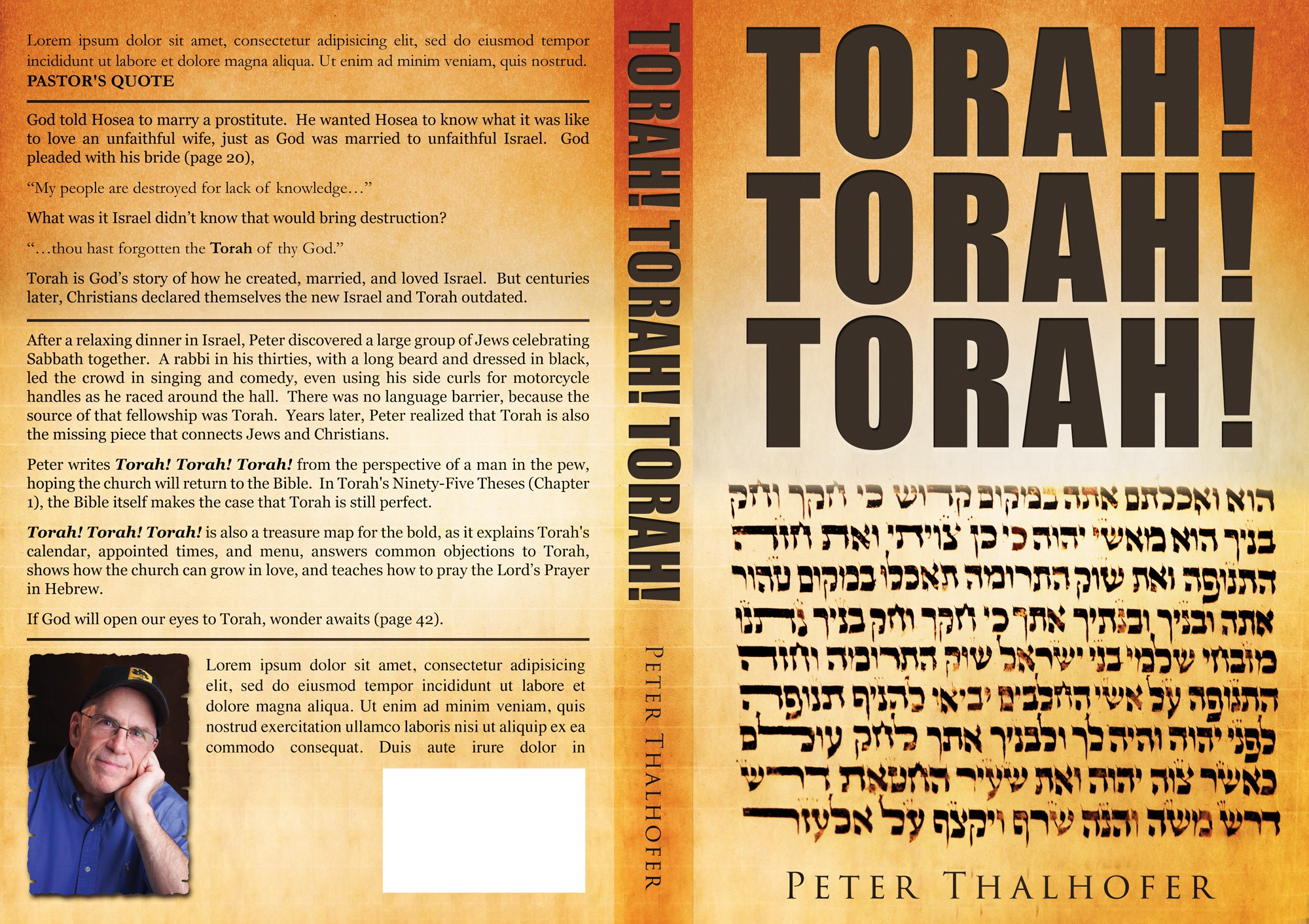 A book cover that makes people want to learn more about Torah.