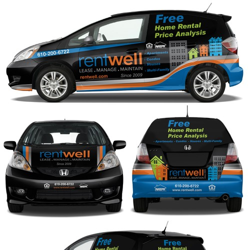 Property Manager need fresh and exciting car wrap
