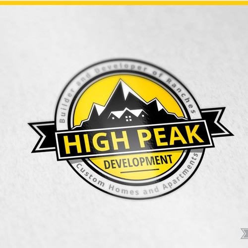 HighPeak Development - concept logo