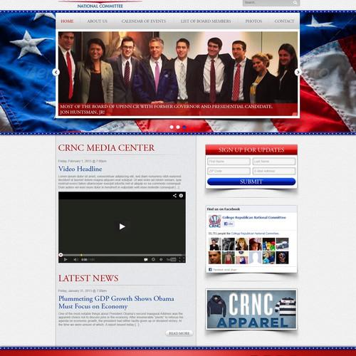 University of Pennsylvania College Republicans needs a new website design