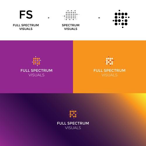 full spectrum visuals logo design