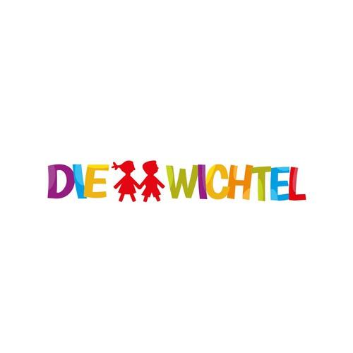 """Logo - Kindergarten """"Die Wichtel"""""""