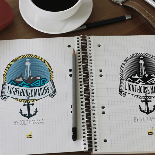 Logo for LightHouse Marine