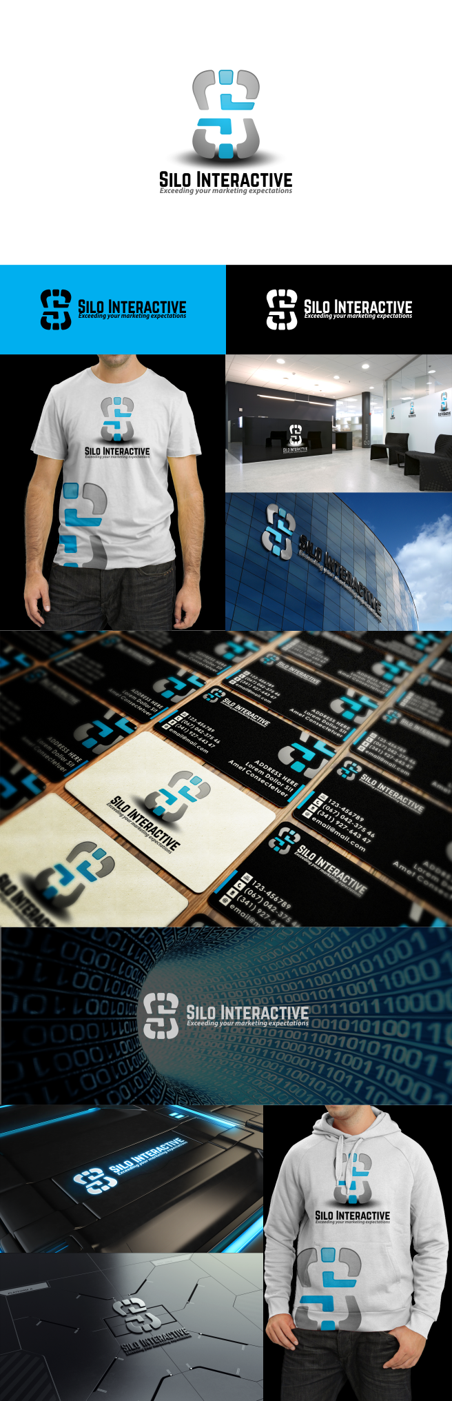 Silo Interactive Media Company Logo and Extras Design Project - EASYYYY