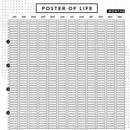Poster of Life in Months