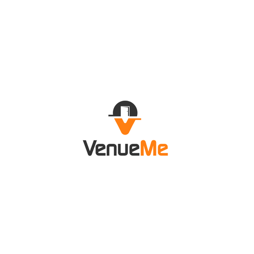 Create a versatile and impactful logo for VenueMe