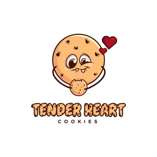 Tender heart cookies