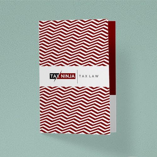 Christmas Card Concept Design for Tax Ninja