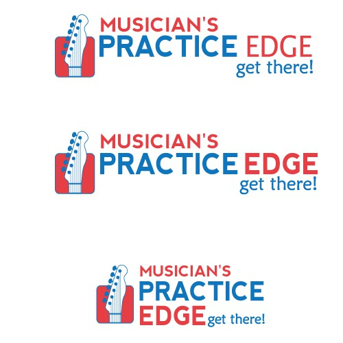 Create a logo for a software product to help musicians practice better