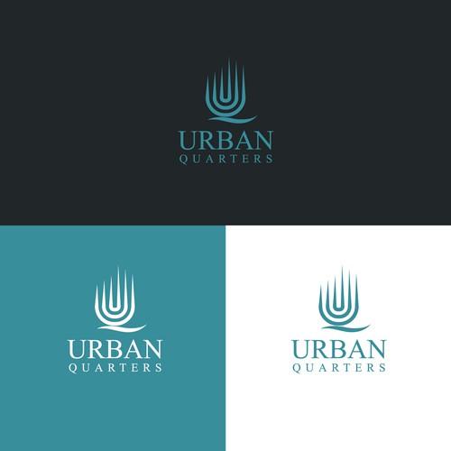 Bold logo concept for Urban Quarters.
