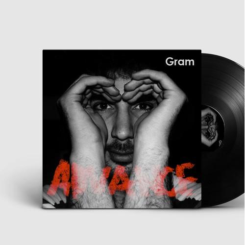 Artwork for music album cover