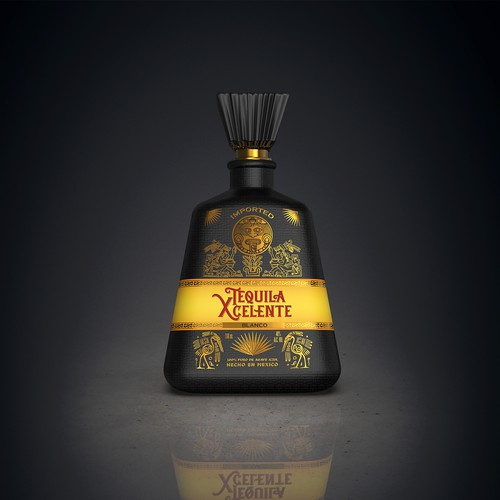 Unique design for our Premium Tequila