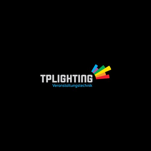 Colorful Lighting Company Logo