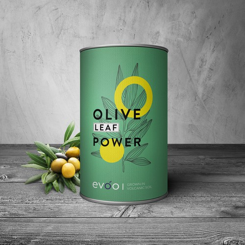 Packaging for olive leafs antioxidant