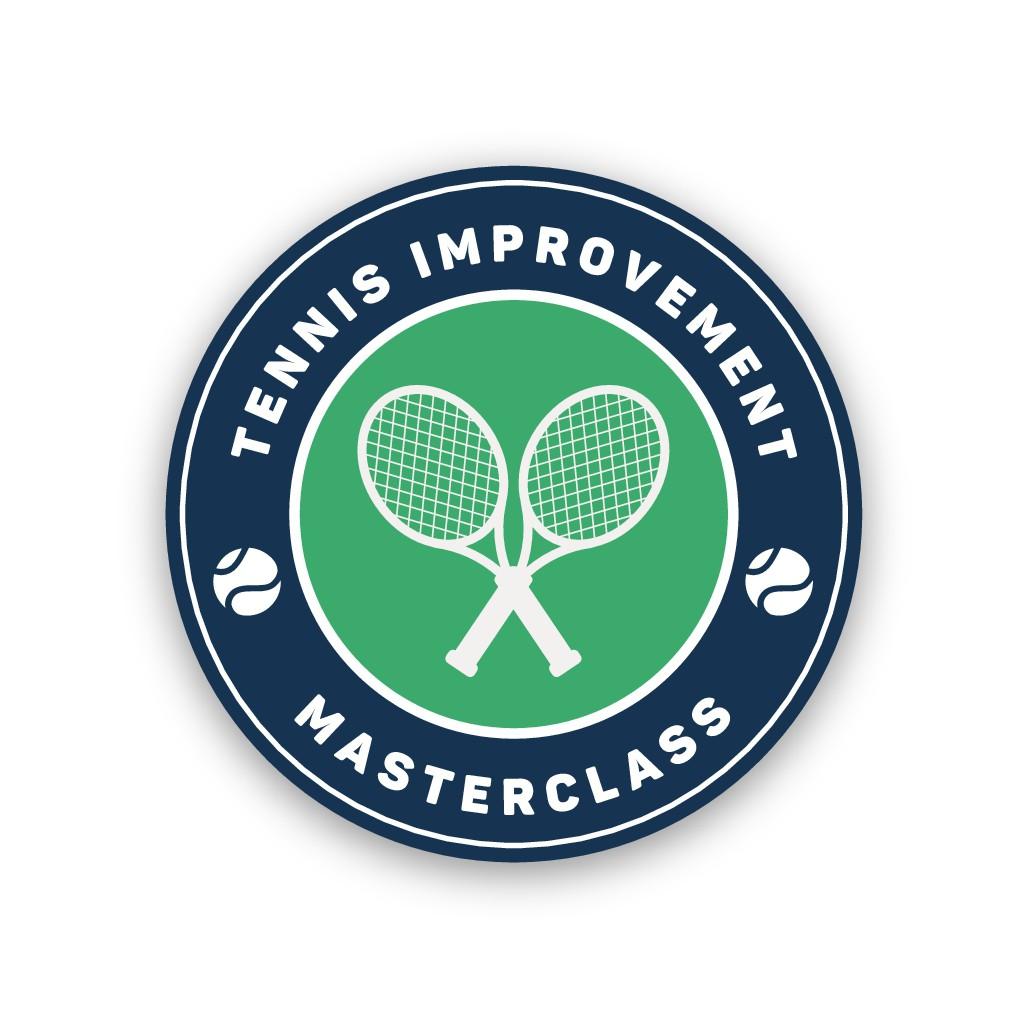 Strong, dynamic logo needed for my online tennis program!