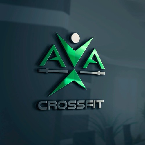 Create a logo for a new CrossFit/Fitness gym!