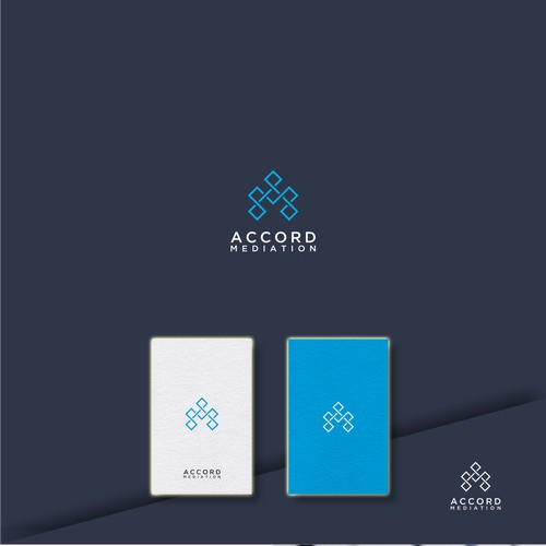 Design a logo and identity for a mediation (conflict resolution) business