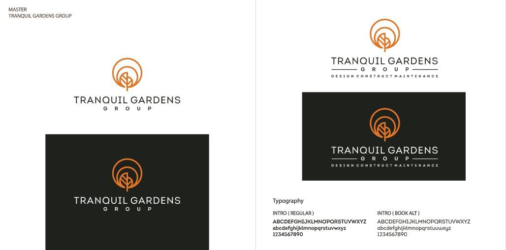 Design a dynamic logo for my successful landscape garden maintenance business