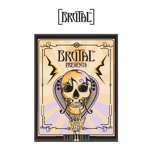 Logo for Brutal.
