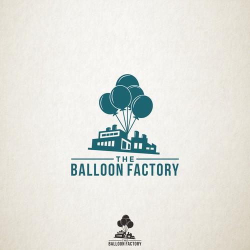 Logo Design for Balloon Factory
