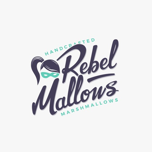 Hand Lettering Rebel Mallows