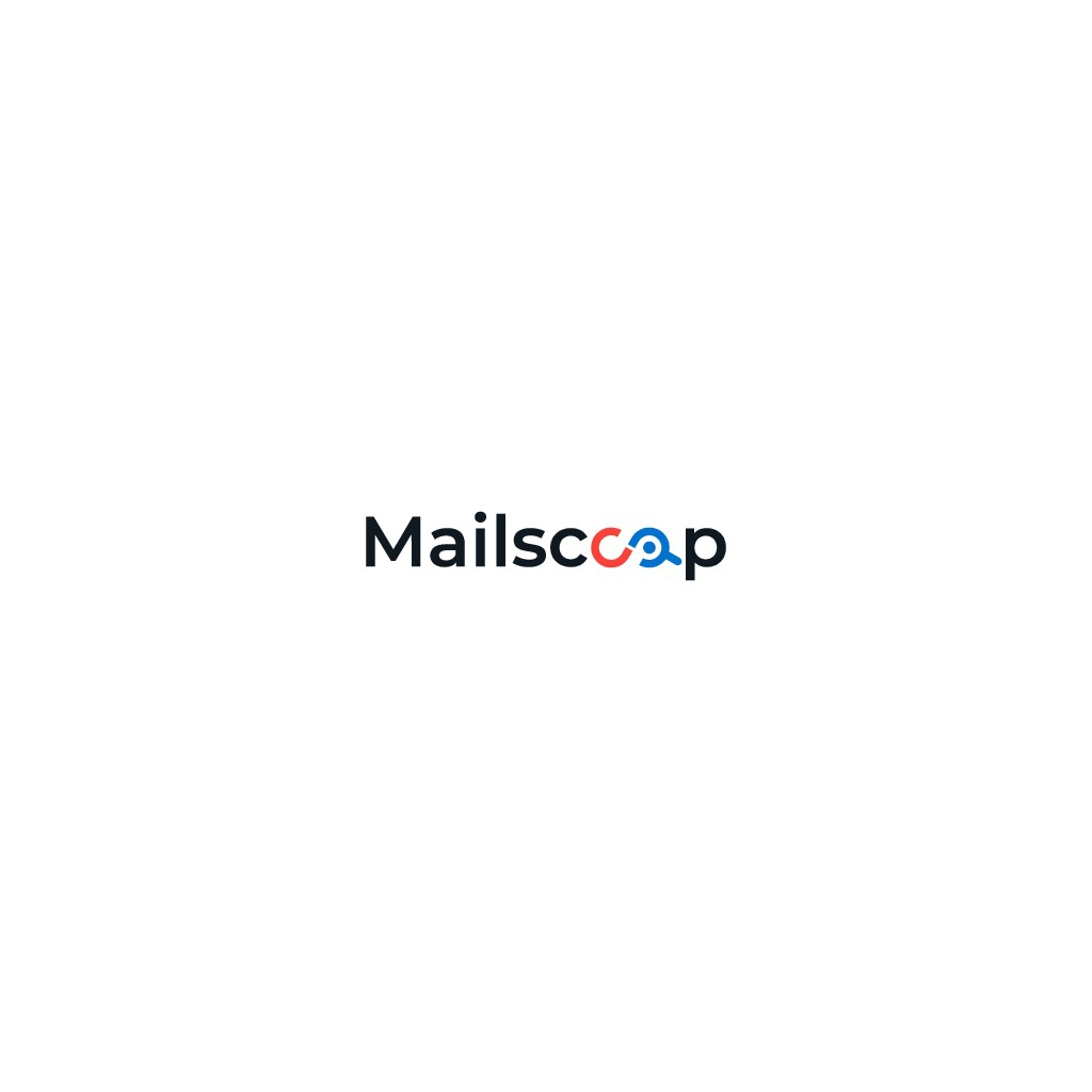 Design a trendy, clean logo for Mailscoop.io email tool