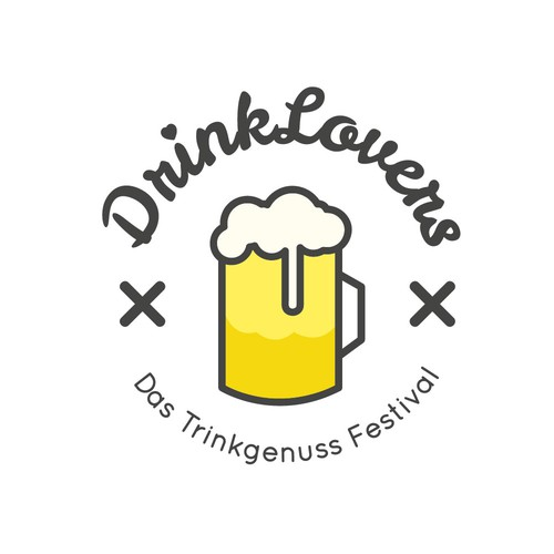 DrinkLovers Logo Contest
