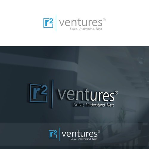 Venture Firm creative logo to launch mobile app business