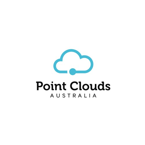 Clean logo for Point Clouds Australia