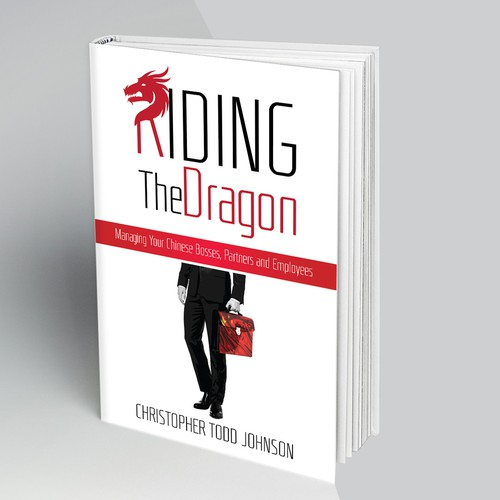 bOOK COVER RIDING THE DRAGON