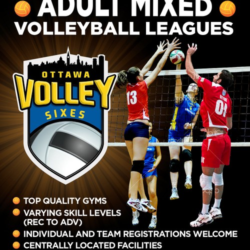 Flyer for Volley