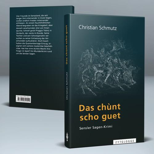 """Cover for a mystery novel """"Das chùnt scho guet"""""""