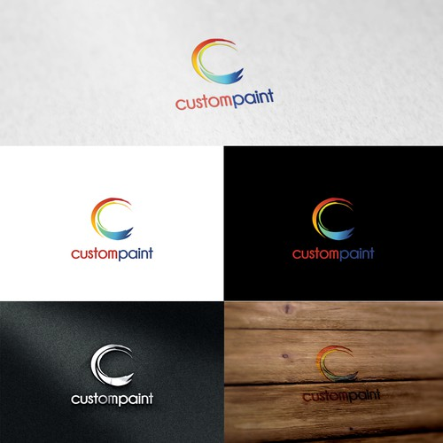 Custom Paint Logo Design