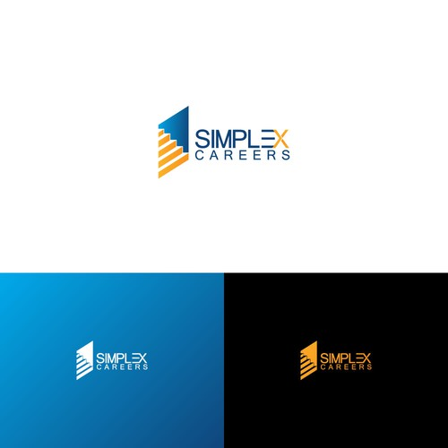 Logo concept for simplex careers