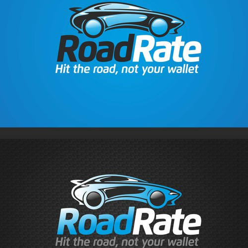 Online Auto Finance Logo and Landing Page