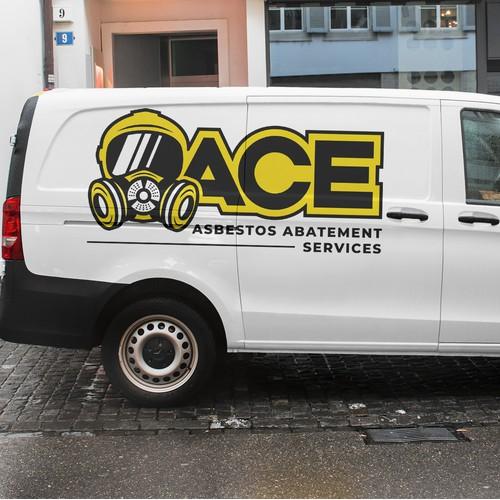 Bold logo concept for construction company