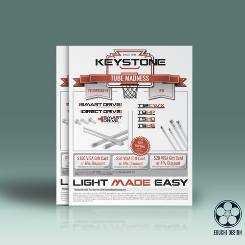Keystone Lighting Madness Flyer (LED and Fluorescent Tubes)