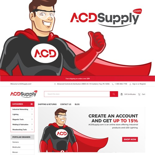 ACD Superhero