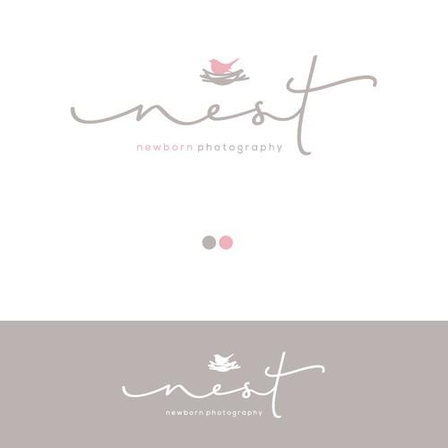 Logo for a newborn photographer