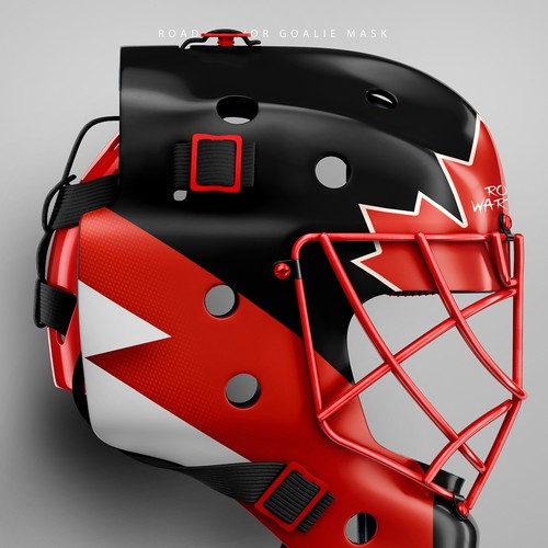 Road Warrior Goalie Mask