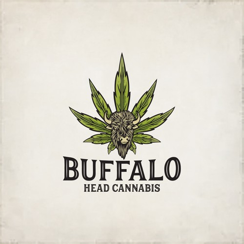 Buffalo Head Cannabis logo