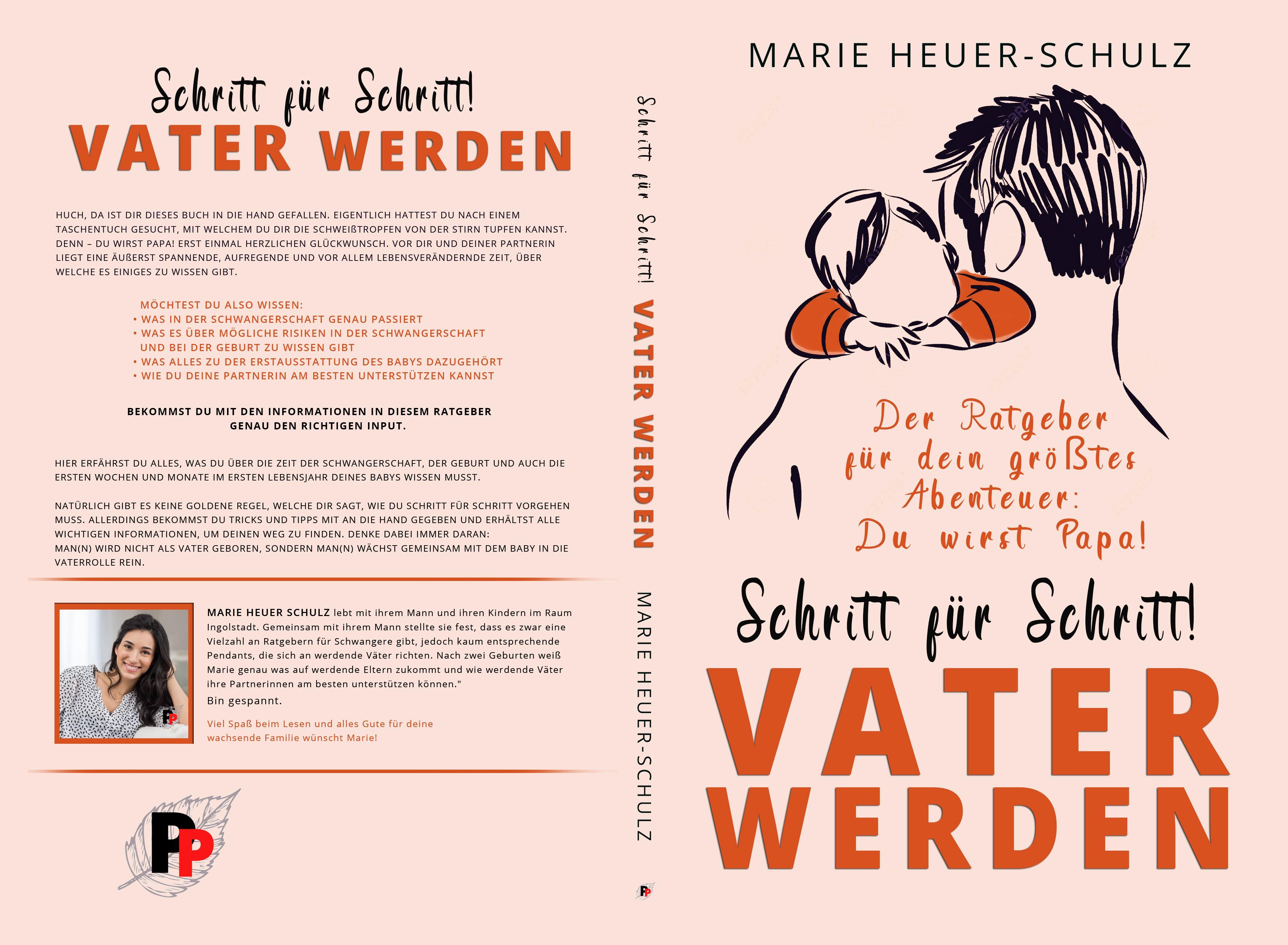 Buchcover für ein Sachbuch für werdende Väter