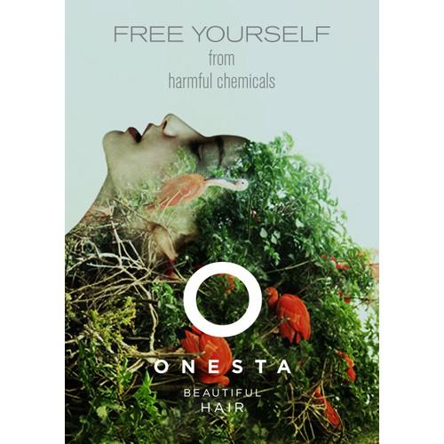 Onesta Hair Care / Salon Poster