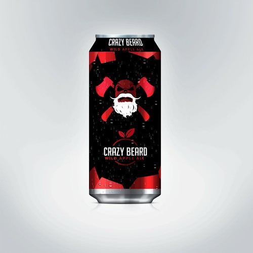 Crazy Beard - Beer Label