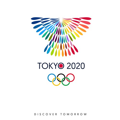 Logo for the 2020 Olympic Games