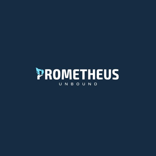 Bold logo concept for Prometheus Unbound